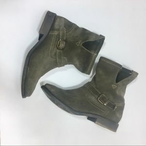 Zigi Girl Corree Suede Ankle Boots Shoe size 7.5